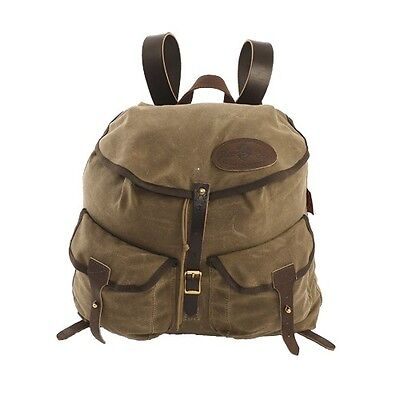 Frost River Geologist Waxed Cotton Canvas/Leather/Brass Rucksack Camping/Hiking