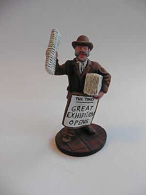 Royal Hampshire Newspaper Seller, Pro. Painted?