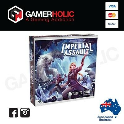 Star Wars Imperial Assault Return to Hoth Board Game Brand New