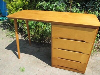 Retro / Atomic Mid Century Modern 1960's Writing Desk Bureau / Table