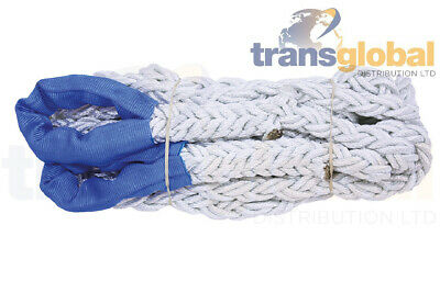 8m x 24mm Kinetic Rope - 8 Strand for up to 12 Tons