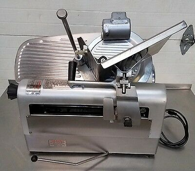 Hobart Automatic Commercial Food Prep Deli Meat Cheese Slicer W/ Sharpener