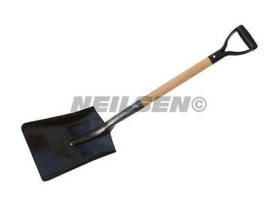 1 x Neilsen Strong Builders Shovel with wooden handle Free delivery CT0091
