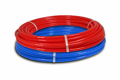 "2 rolls 3/4"" x 50ft PEX Tubing for Potable Water Combo"