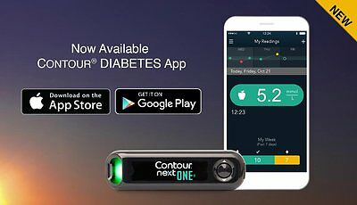 Contour Next One USB blood Glucose System + FREE GIFT