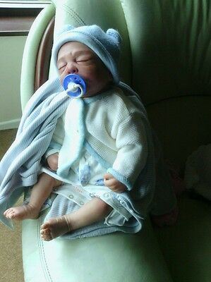 Rare Sold Out Realistic  Bruno By Ruth  Annette Reborn Baby Boy Doll