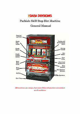 Pachislo Operations Manual AND Pachislo General Manual on 1 CD!