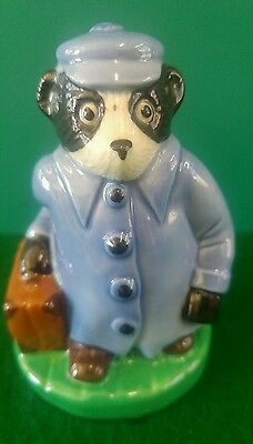 Wade On Tour Travelling Badger The Official International Collectors Club 1998