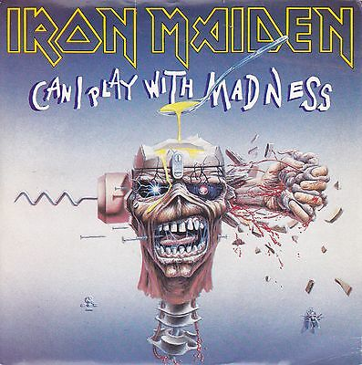 Iron Maiden - Can I Play With Madness/ Black Bart Blues