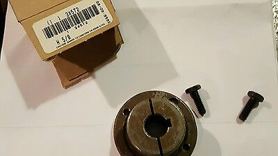 BROWNING S/S STAINLESS SPLIT TAPERED BUSHING H 5/8  BORE 5/8 NOS new