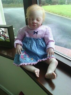 Realistic  Lexi By Sandra White Reborn Baby Girl Doll