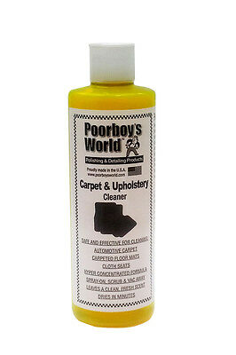 Poorboys Car Carpet Seat & Upholstery Fabric Cleaner Concentrate Makes 15 Litres