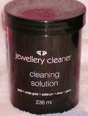 Jewellery Cleaner Cleaning Solution for Gold, White Gold Silver,Platinum & Gems