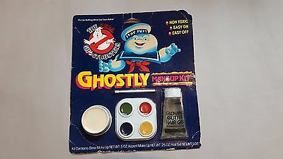Real Ghostbusters - Ghostly Makeup Kit - ULTRA RARE - Vintage 1989 - MOC