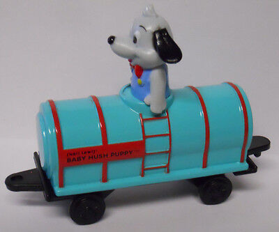 VINTAGE! Ertl Lamb Chop & Friends Baby Hush Puppy in Tanker Car