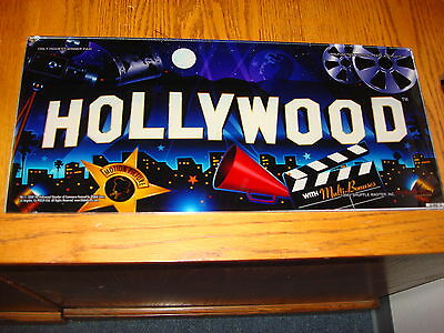 Hollywood  Slot Glass   For Your   Man Cave  Wall