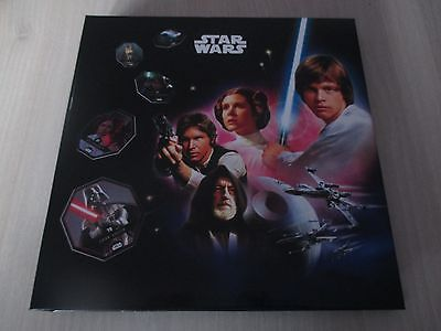Classeur star wars complet 54 jetons collection 2015 neuf