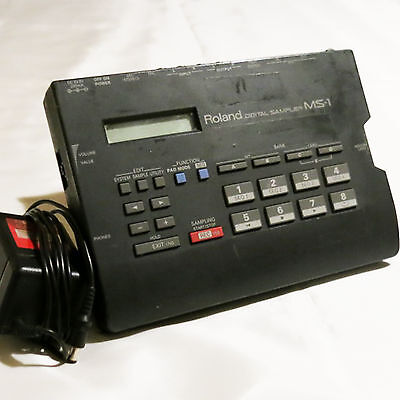 Roland MS-1 Digital Sampler W/AC adaptor