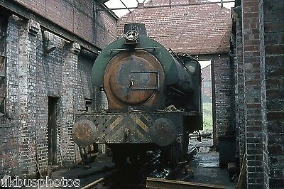 NCB he 0-6-0st North Gawber Colliery Sth Yorkshire 1974 Colliery Rail Photo