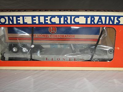 Lionel 6-16924 Lionel Trailer on Flatcar  0-027 Scale NIB