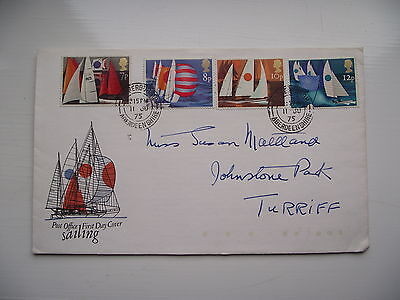 FDC - First Day Cover - 1975 Sailing
