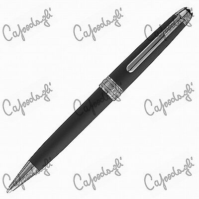 Montblanc Penna A Sfera Heritage Collection Ultra Black Special Edition 114829