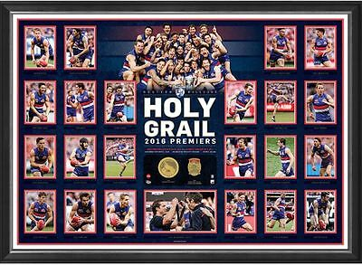 Western Bulldogs Limited Edition Holy Grail 2016 Premiers High Quality Poster