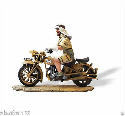 LEAD SOLDIERS MOTORCYCLE -  Long range desert group MATCHLESS G3 - SMI026