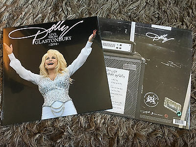 Dolly Parton - Live From Glastonbury 2014 - Sealed Gatefold Double Vinyl LP