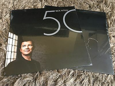Rick Astley - 50 - New Limited Edition Vinyl LP Angels On My Side Keep Singing