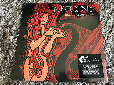 Maroon 5 - Songs About Jane - Sealed 180g Vinyl LP + Download She Will Be Loved