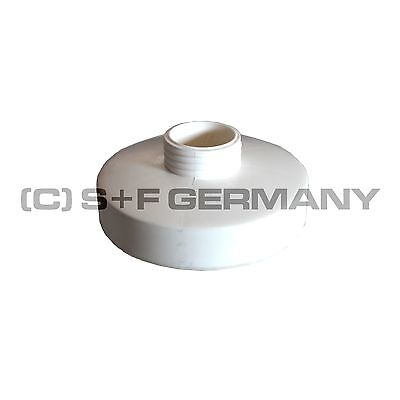 █ Deluxe Gas Mask Filter White 40Mm For Latex Clinic Fetish Hood Catsuit Cosplay