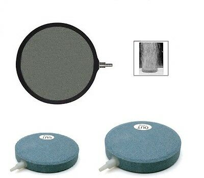 Ceramic Air Disc Stones - Pond Aquarium Diffuser - 3 Sizes - Pond Aeration