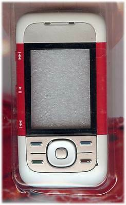 New!! Red Housing /Fascia /Cover /Case for Nokia 5300