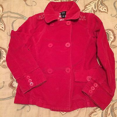 Girls Gap Dressy Soft Coat - Size (GL)  Age 10 - In Excellent Condition