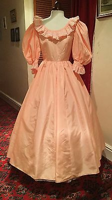 Ladies Victorian Style Theatrical Ballgown Stage Dress Costume
