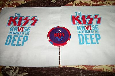 Kiss Kruise VI 5$ casino chip + bonus