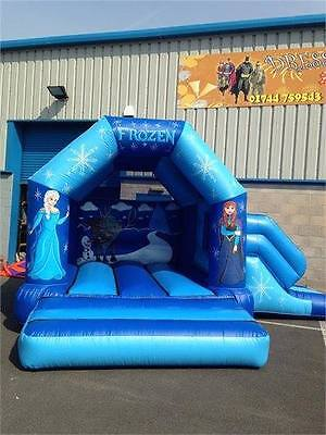 15ft x 18ft bouncy castle with slide