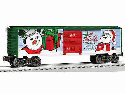 "2015 Lionel Christmas Boxcar Series ""merry Christmas""......mint In Box!"