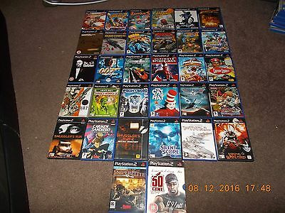 playstation 2 games joblot or bundle all mixed