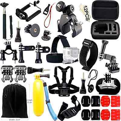 1 Hero Gopro Camera 48 Accessory Bundle 2 3 Action Session Gogolook New Gift