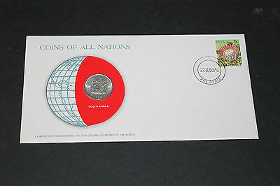 South Africa Coins Of All Nations 1978 20 Cent Coin Unc