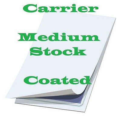 5 pk Carrier Sleeves Sheets For Laminating Pouches,  LETTER Size 9-1/4 x 11-5/8