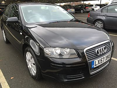 2007/57 Audi A3 Special Edition Black, Low Miles, Some History,long Mot Etc