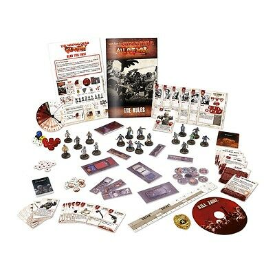 Mantic: The Walking Dead: All Out War Miniatures Game Core Set