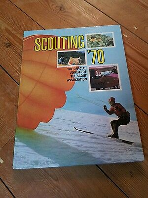 SCOUTING '70. 1970 official scouts annual.