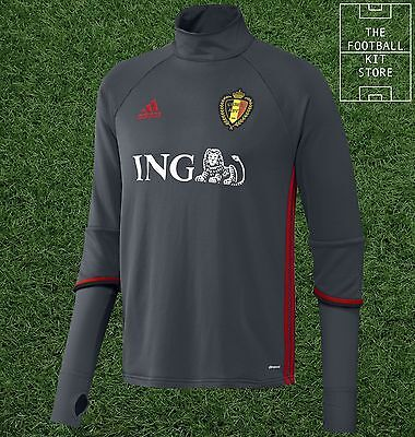 Belgium Midlayer - Official adidas Football Training Top - Mens - All Sizes