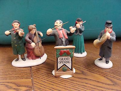 Dept 56 CHAMBER ORCHESTRA  #58840 Heritage Village Set of 4**FREE SHIPPING!!