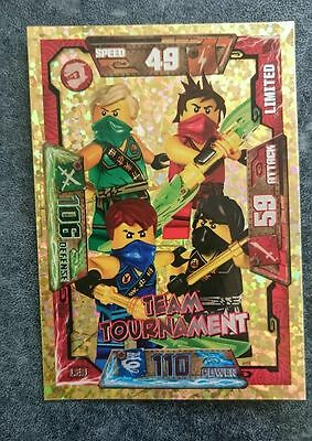 Lego Ninjago Trading Card Game Limited Card - Team Tournament LE9