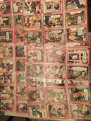 1976 Topps Welcome Back Kotter Complete Set Of 53 Cards